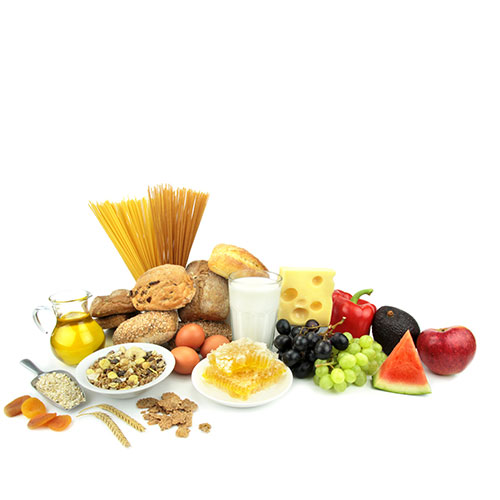 Nutritionist and Chiropractor Using Healthy Foodin Cooper City